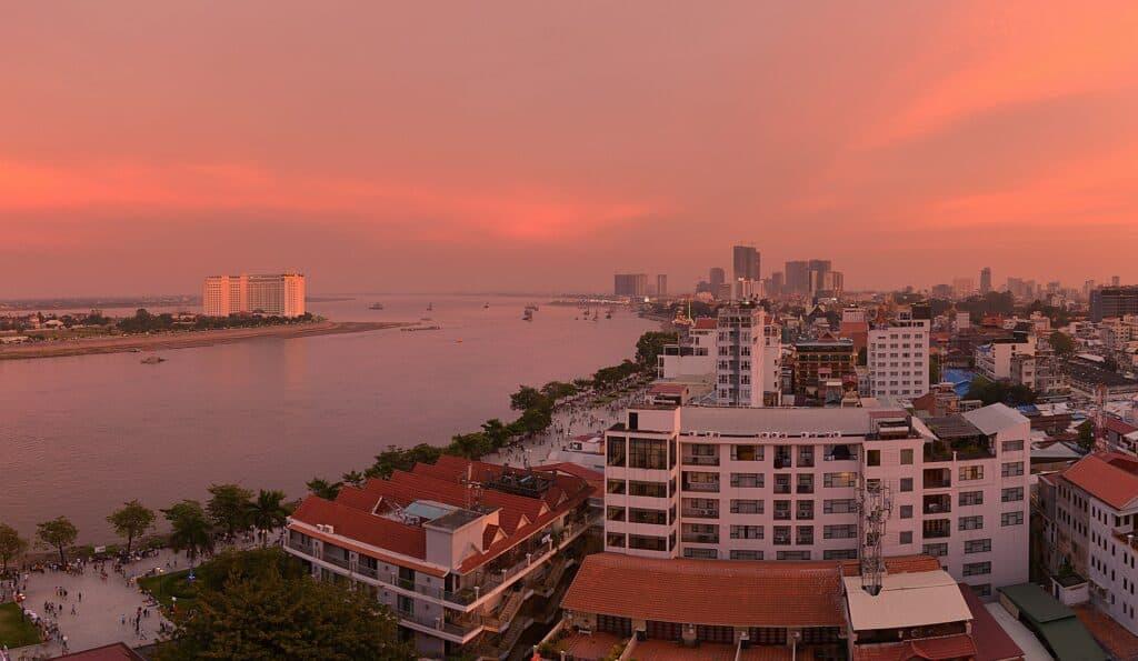 phnom penh sunset