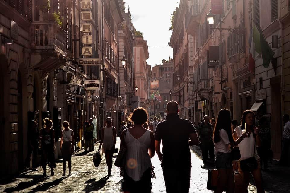 italy streets