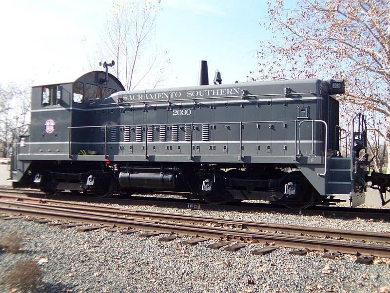 800px Sacramento Southern Railroad locomotive No. 2030