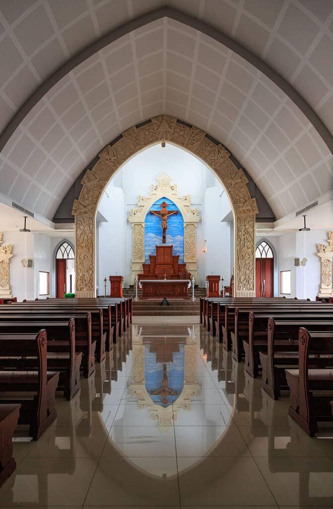 bali catholic church