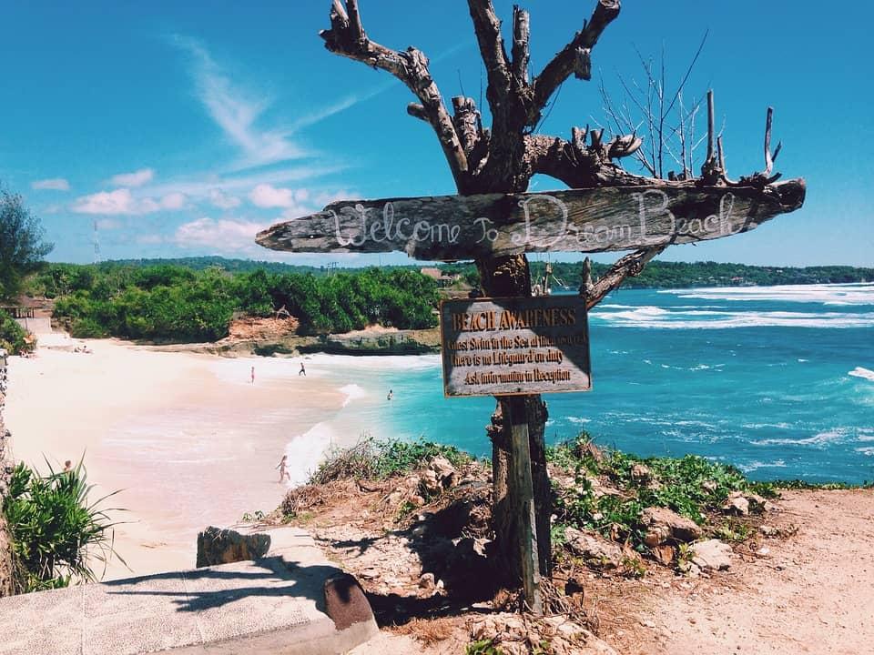 dream beach nusa penida