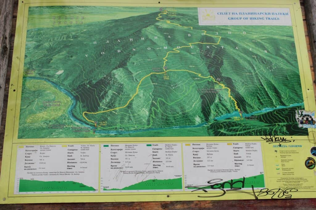 matka canyon map