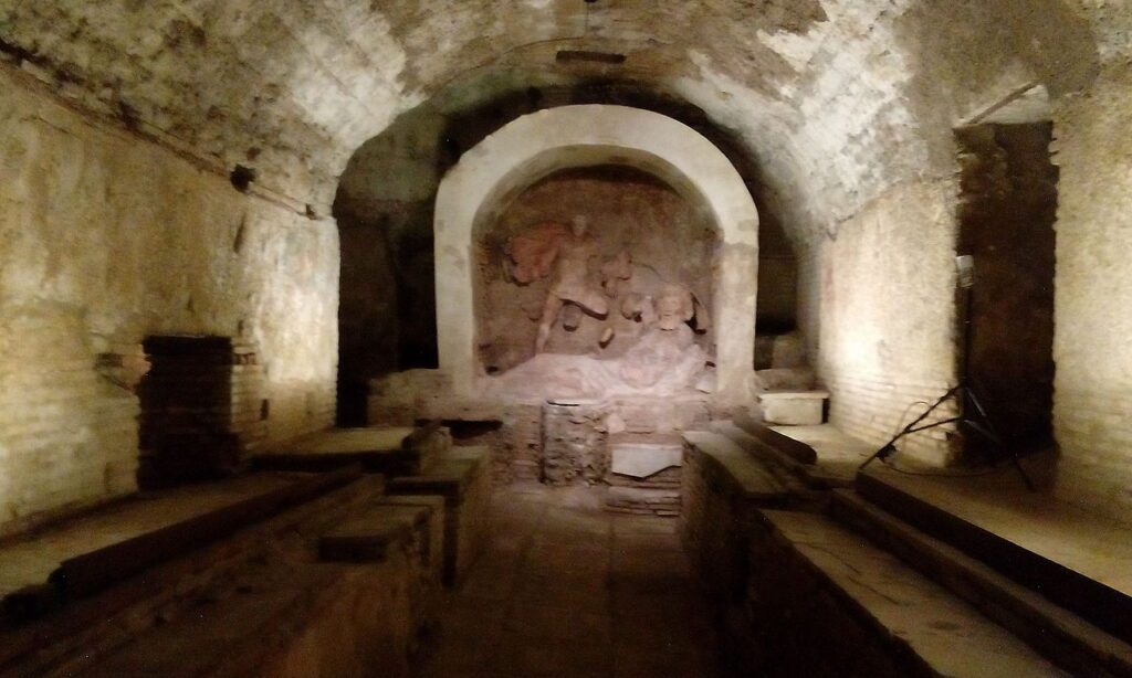 Santa Prisca Basilica Mithraeum