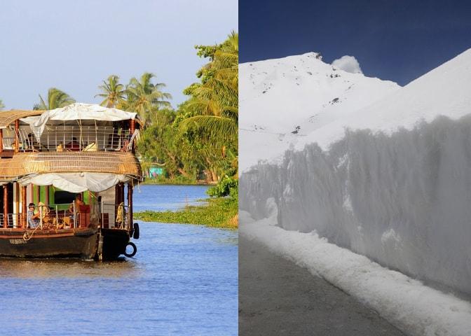 india landscapes