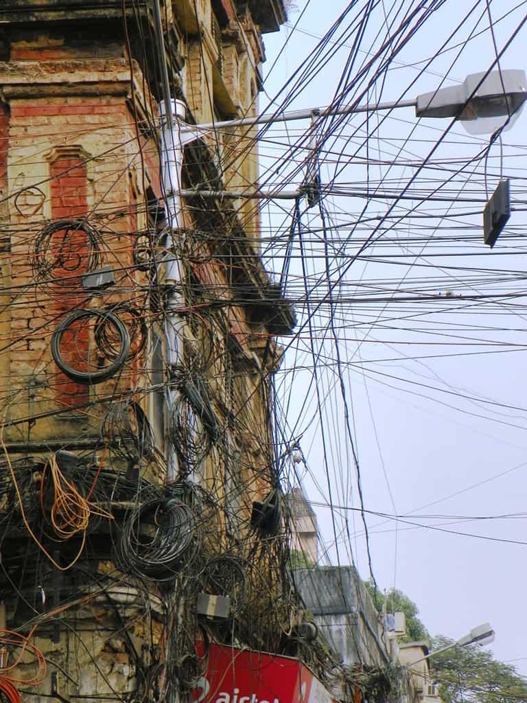 kolkata wires street