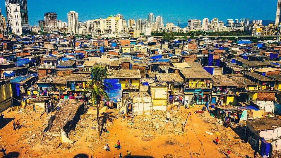 mumbai slum skyscrapers