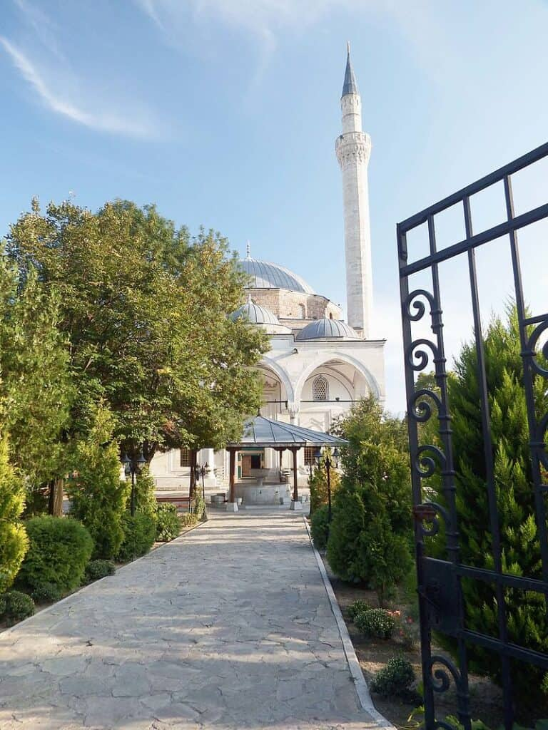 mustafa pasha mosque Skopje