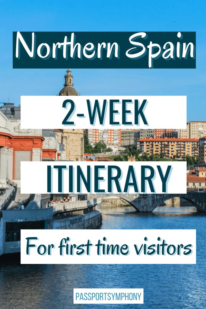 northern spain 2-week itinerary
