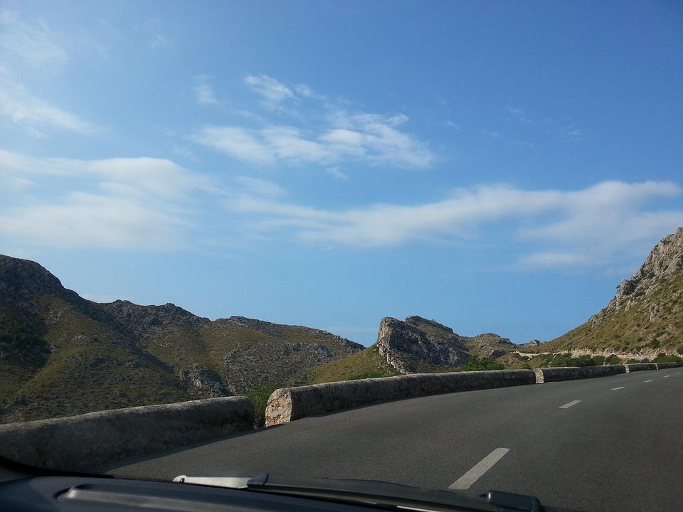 spain drive road