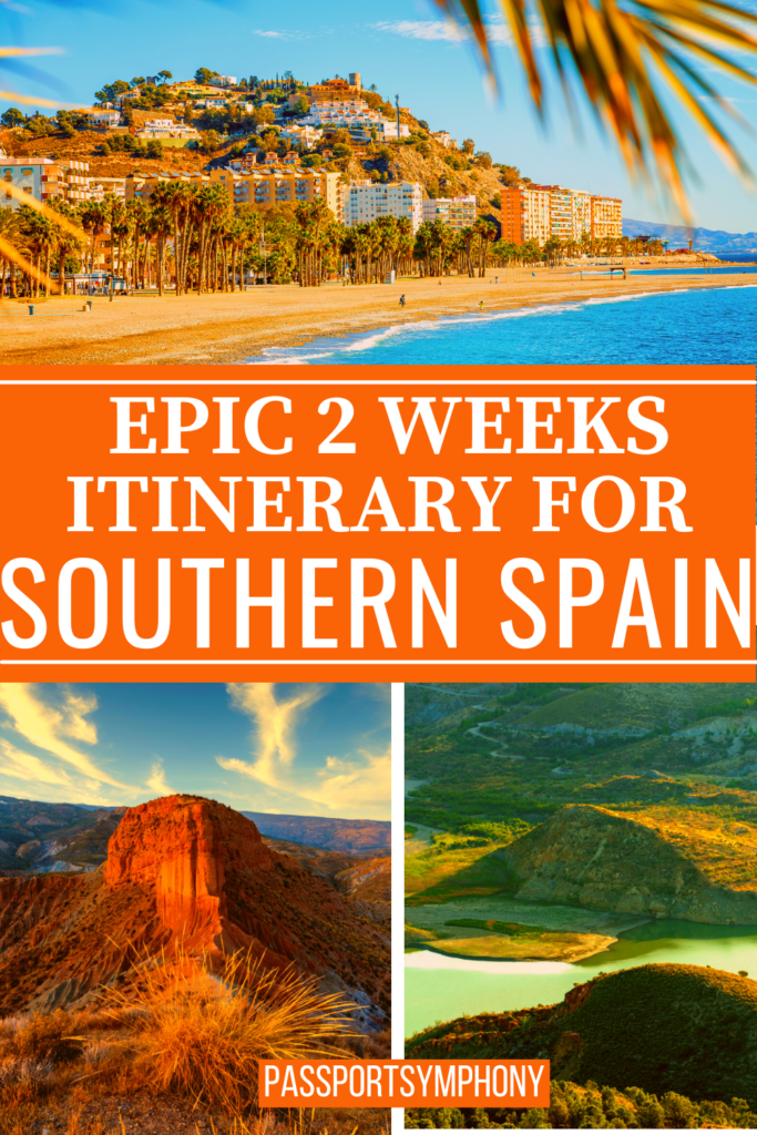 EPIC 2 WEEKS ITINERARY FORSOUTHERN SPAIN 1