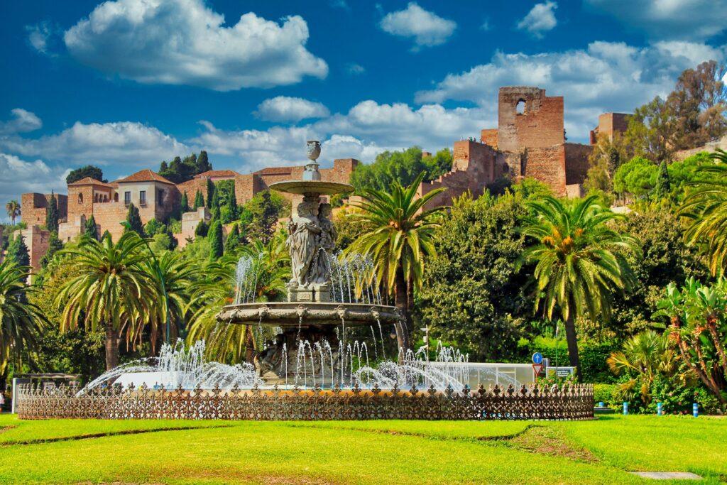 garden fountain andalusia