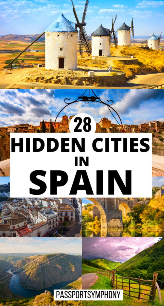 28 HIDDEN CITIES IN SPAIN