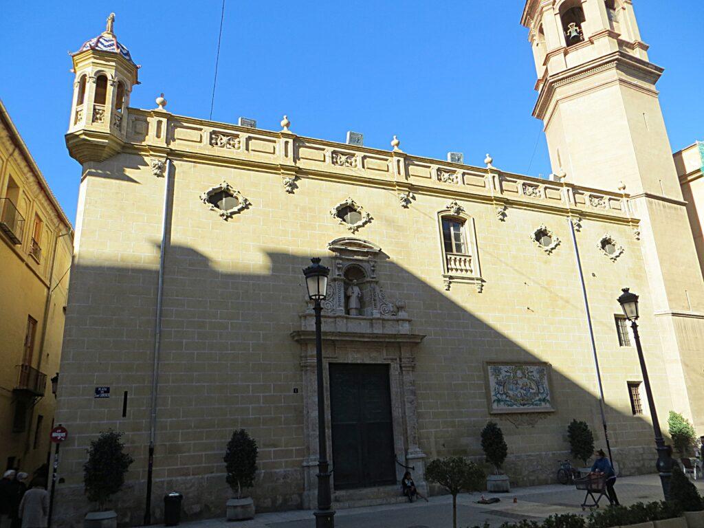 iglesia de san lorenzo hidden gems in valencia