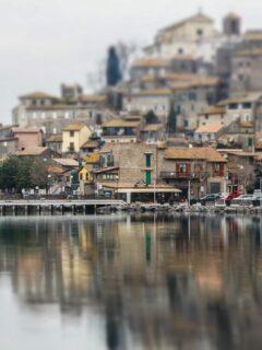 Anguillara Sabazia villages in rome
