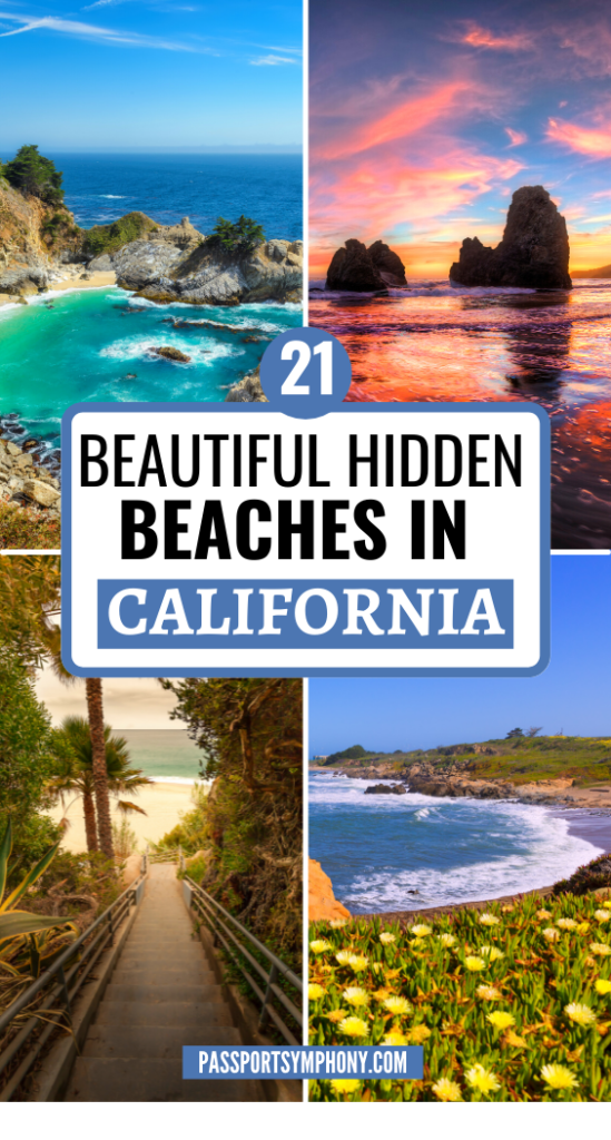 21 BEAUTIFUL HIDDEN BEACHES IN CALIFORNIA