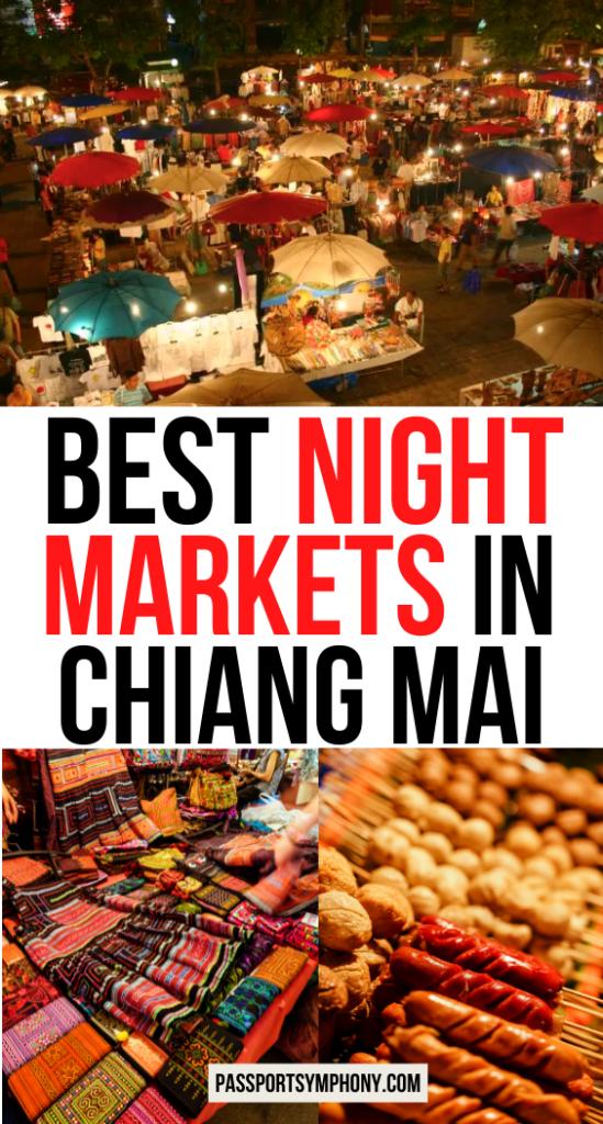BEST NIGHT MARKETS IN CHIANG MAI