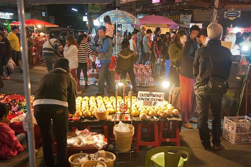 Kad Suan Kaew Night Market