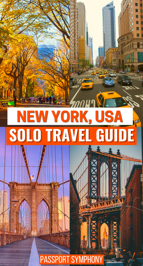 NEW YORK USA SOLO TRAVEL GUIDE