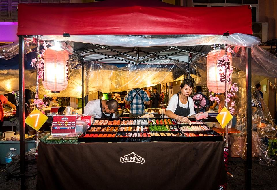 Suan Dok Park Night Market